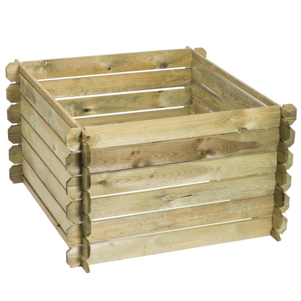Qui utilise un composteur en bois?